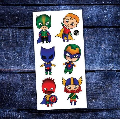 Les petits super-héros - PICO Tatoo