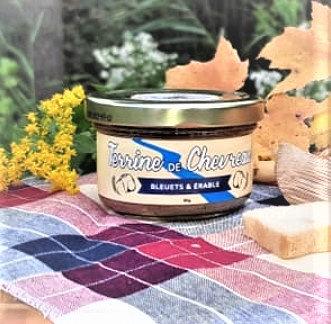 Terrine de chevreau - Bleuets & Érable