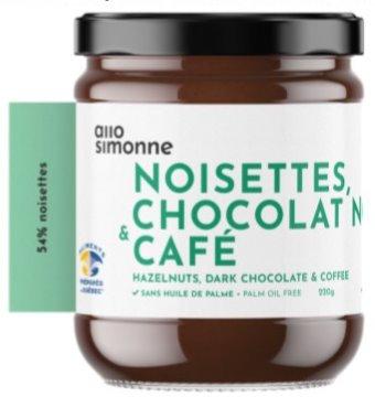 Allo Simonne - Noisettes, chocolat noir & café