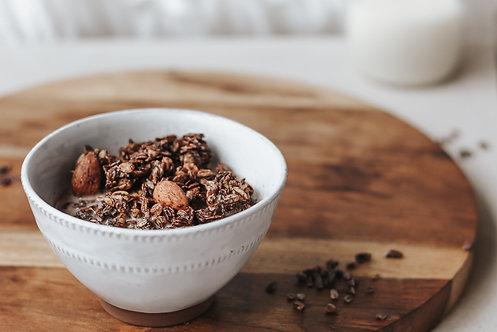 Granola Chocolat noir, amandes & sel de mer - Les Grenailles