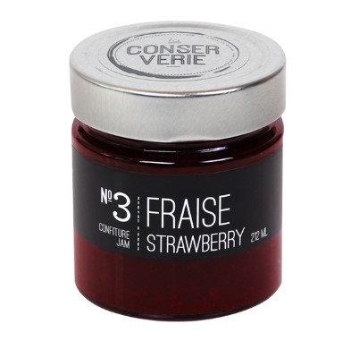 Confiture de fraises - La CONSERVERIE