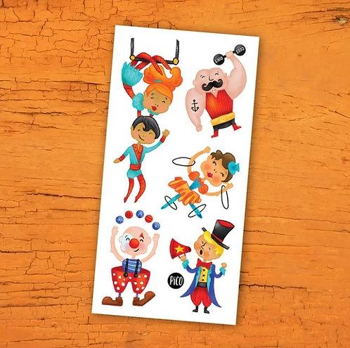 Le cirque acrobatique - PICO Tatoo