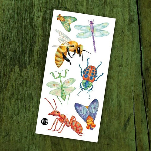 Les insectes - PICO Tatoo