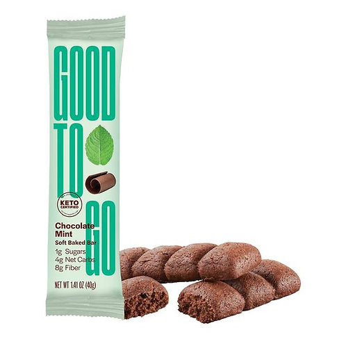 Barre tendre Chocolat & Menthe  - GOOD TO GO