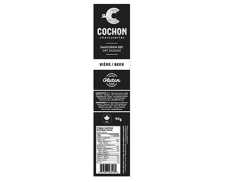 Saucisson séché - Bière / C'Cochon
