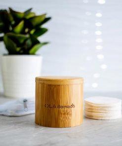 Coffret  - Tampons démaquillants réutilisables - OLA Bamboo