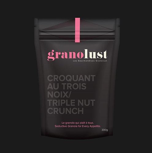 Granolust - Croquant au trois noix