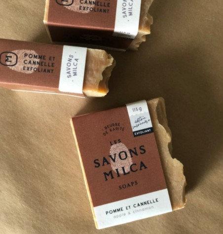 Savon - Pomme & Cannelle exfoliant