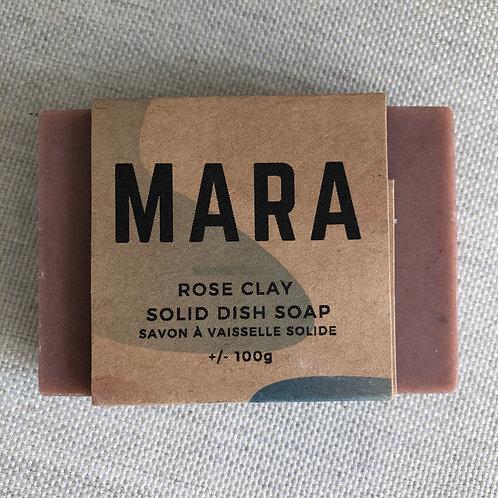 Savon à vaisselle rose - MARA