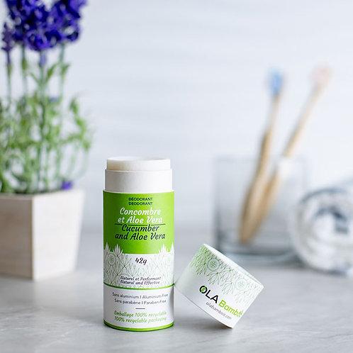 Déodorant / Concombre & Aloe Vera - OLA Bamboo