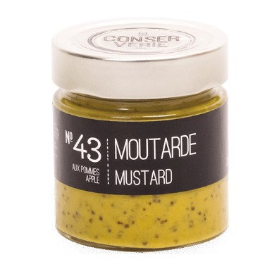 Moutarde aux pommes - La CONSERVERIE