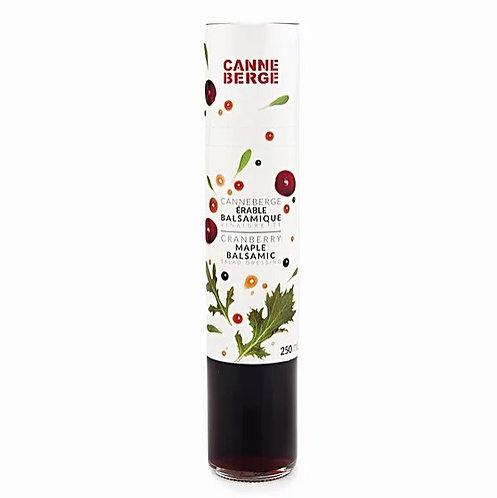 Vinaigrette canneberge, érable & balsamique - CANNE BERGE