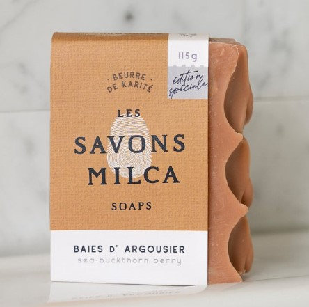 Savon baies d'argousier