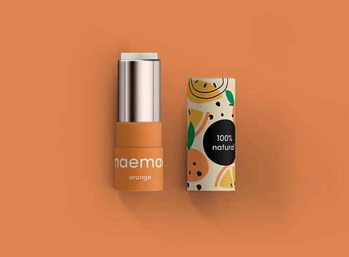 Baume à lèvres - Orange / Maemae