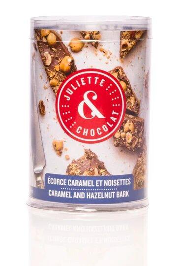 Écorces chocolat au lait 33% & Noisettes - Juliette & Chocolat