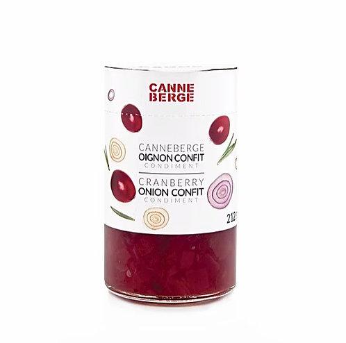 Confit d'oignons & canneberges - CANNE BERGE