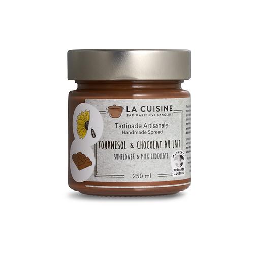 La Cuisine - Tartinade tournesol & chocolat au lait