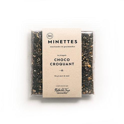 Choco croquant - Les Minettes