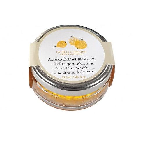 La Belle Excuse - Confit d'oignons perlés au balsamique de citron