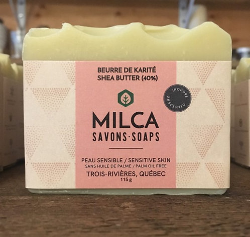 Savon - Beurre de karité 40% inodore