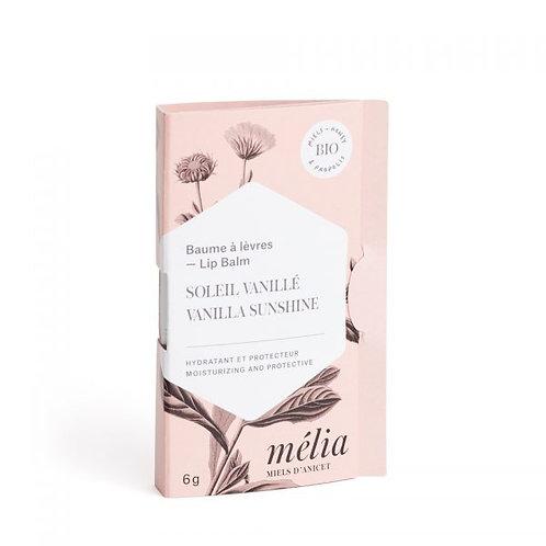 Baume à lèvres Soleil Vanillé - Mélia