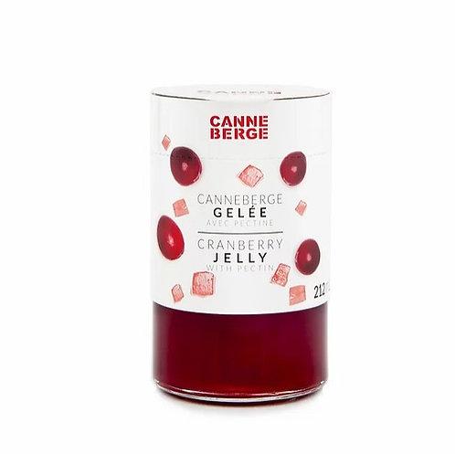 Gelée pure canneberge - CANNE BERGE