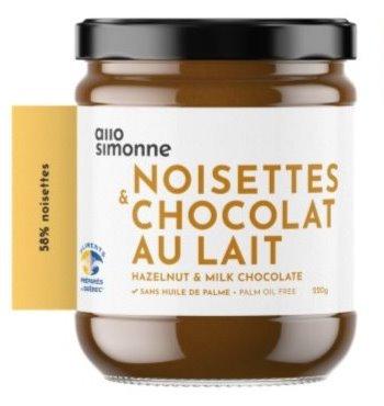 Allo Simonne - Noisettes & chocolat au lait
