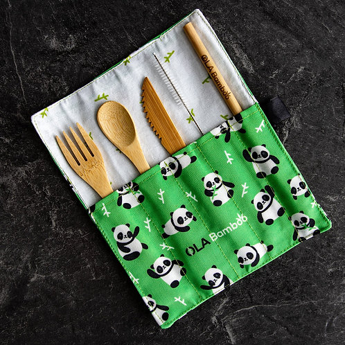 Kit zéro déchet pour enfant - OLA Bamboo