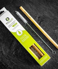 Pailles en bambou réutilisables - OLA Bamboo