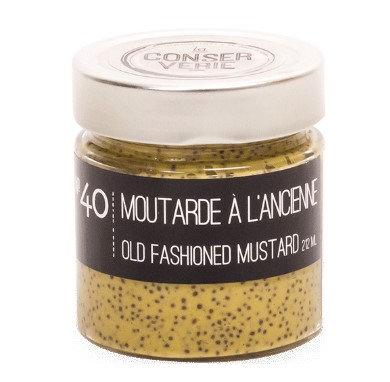 Moutarde à l'ancienne - La CONSERVERIE