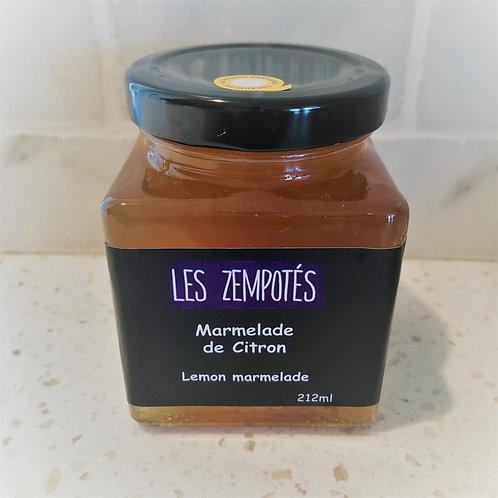 Marmelade de citron - LES ZEMPOTÉS