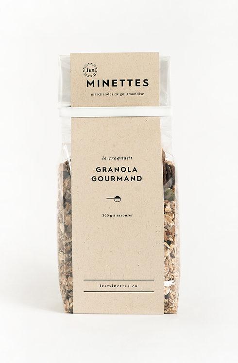 Granola gourmand - Les Minettes