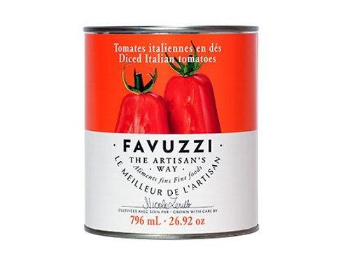 Tomates en dés / Favuzzi