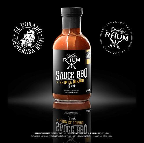 Sauce BBQ au rhum El Dorado 12 ans / Québec Rhum