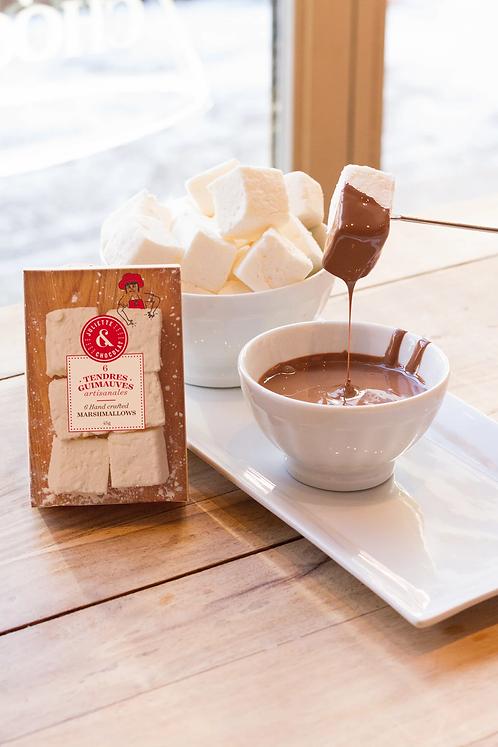 Tendres guimauves artisanales - Juliette & Chocolat