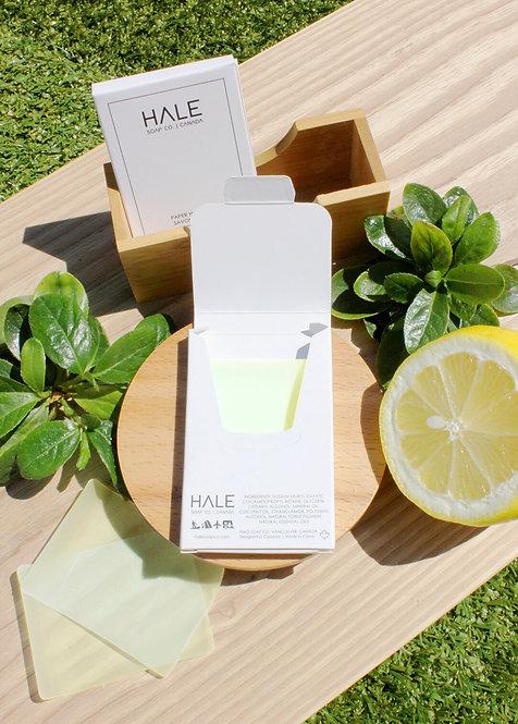 Savon en feuille / Miel & Citron - Hale Soap Co.