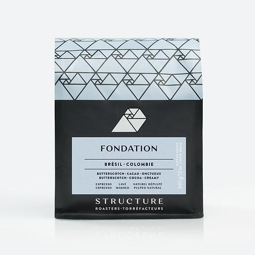 Café FONDATION (Espresso) - Structure Torréfacteurs