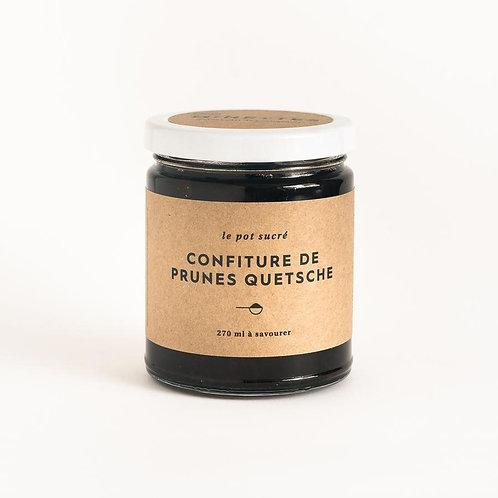 Confiture de prunes Quetsche - Les Minettes