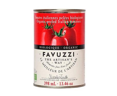 Tomates biologiques pelées / Favuzzi