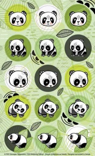 Les pandas sympas - PICO Autocollant