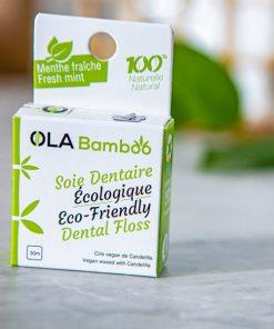 Soie dentaire écologique - OLA Bamboo