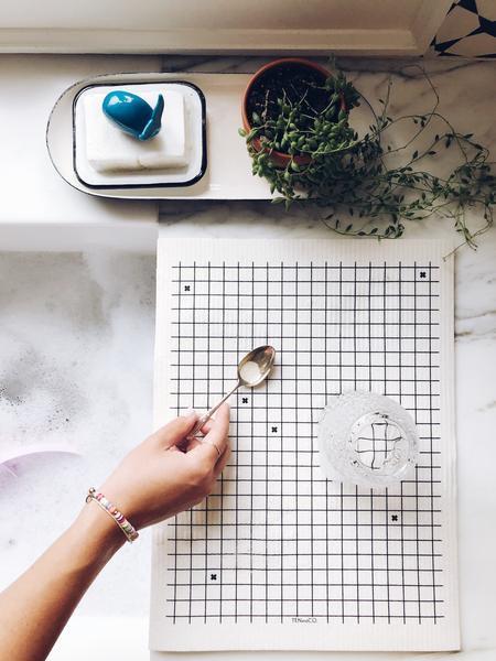 Ten & Co / Tapis à vaisselle réutilisable