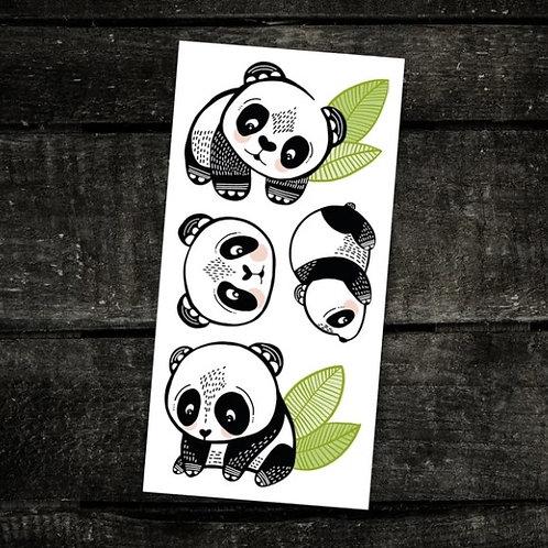 Les pandas sympas - PICO Tatoo