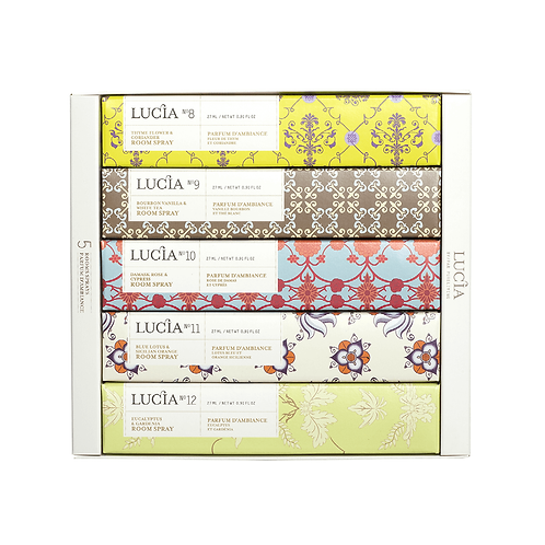 Coffret # 2 Lucia - Assortiment de parfums d'ambiances