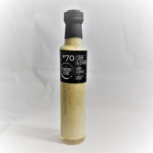 Vinaigrette cidre & érable - La CONSERVERIE