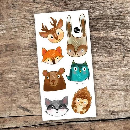 Les animaux de la forêt - PICO Tatoo