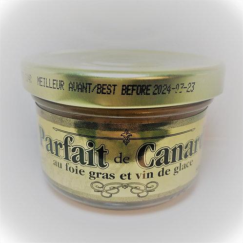 Parfait de Canard au foie gras & Vin de glace