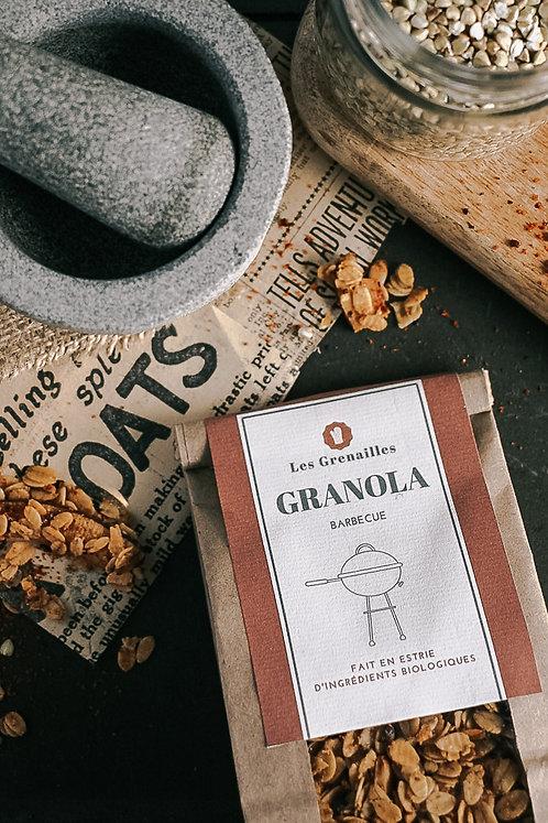 Granola Croquant BBQ - Les Grenailles