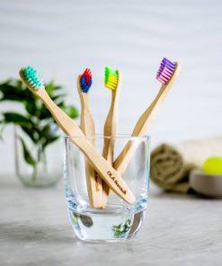 Brosse à dents enfants - Rose/Mauve
