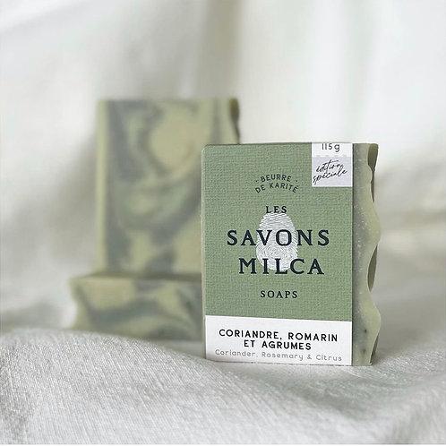 Savon Coriandre - Romarin & Agrumes - Exclusivité Juliette CS !
